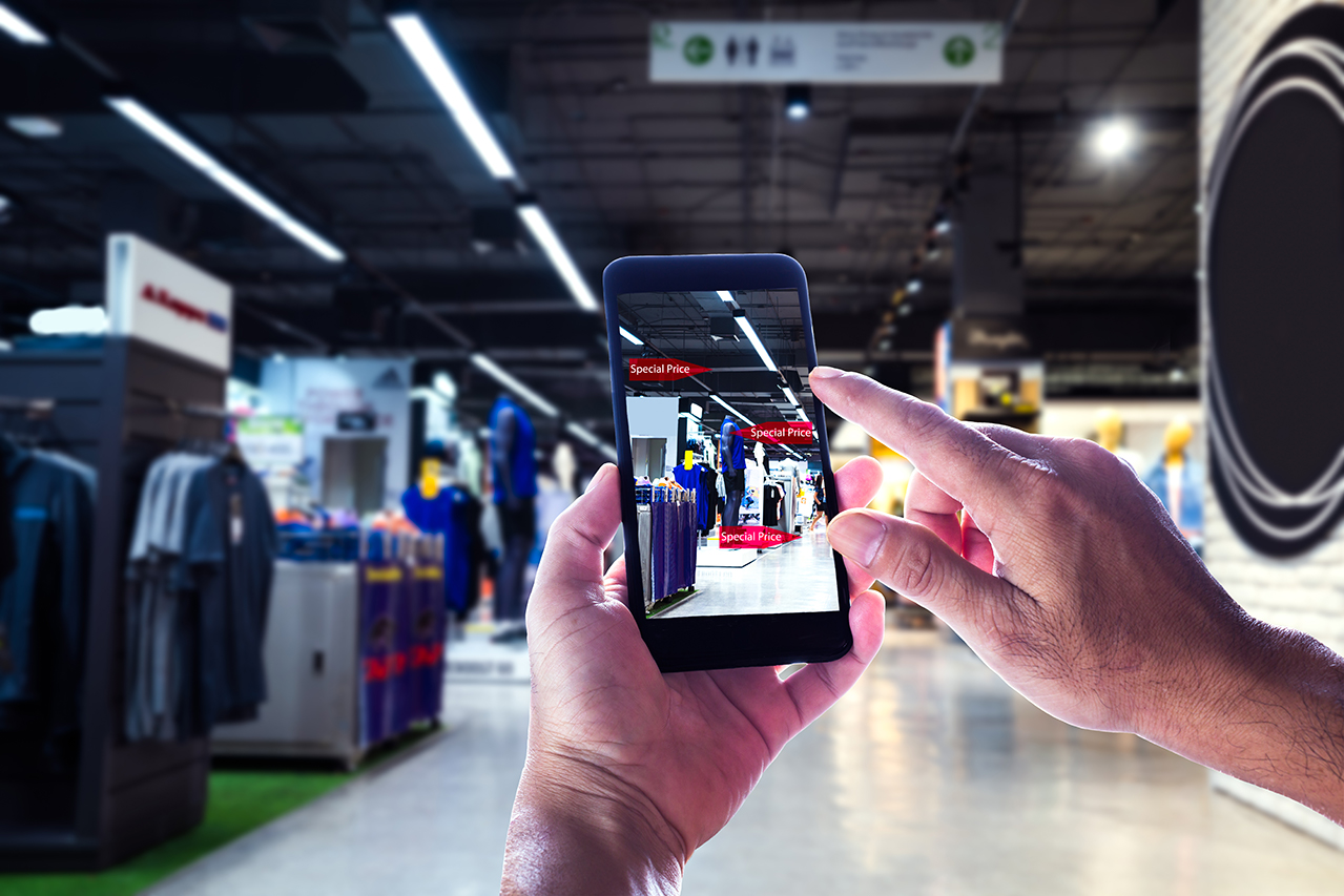 Digital Retail: A B-ball Court in YOUR Mall?