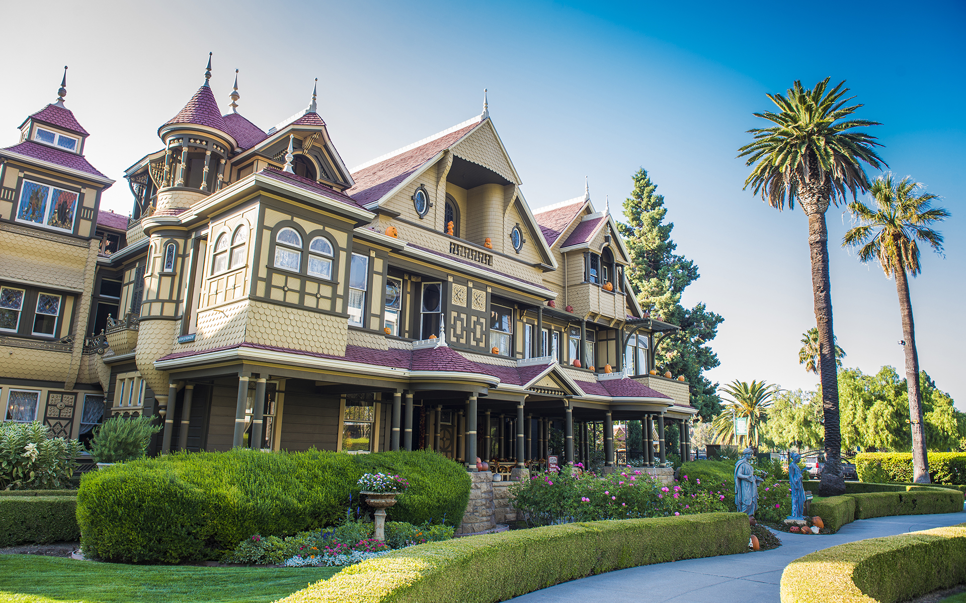 Visit the Winchester Mystery House in San Jose