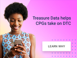 Treasure Data helps CPGs take on DTC